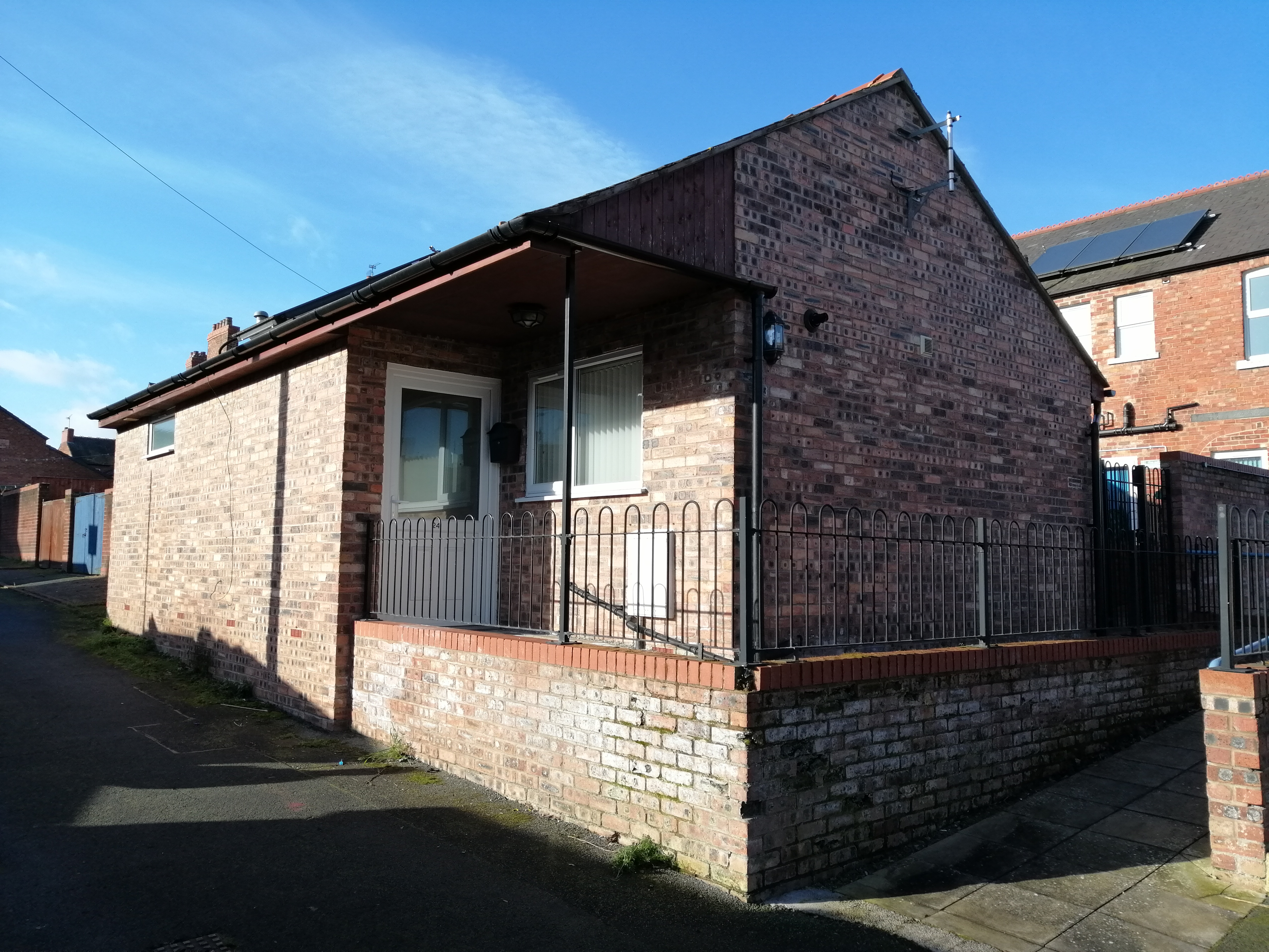 Exterior of Ryeland Street home