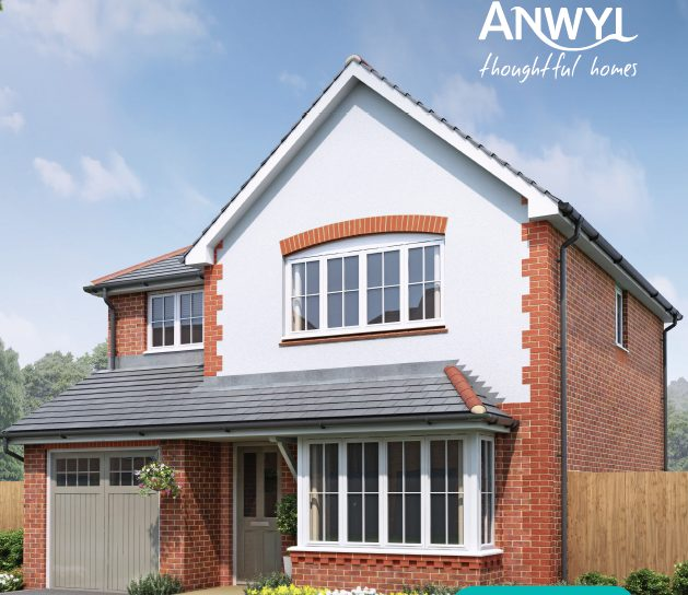Anwyl homes image of Porthmadog new build home